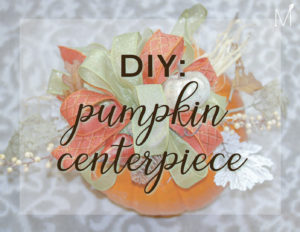 DIY pumpkin blog
