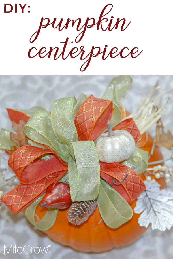 Pinterest-pumpkin centerpiece
