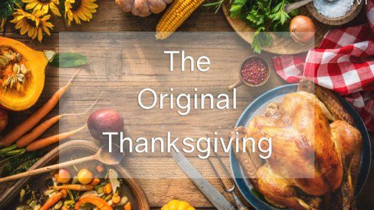 Original Thanksgiving