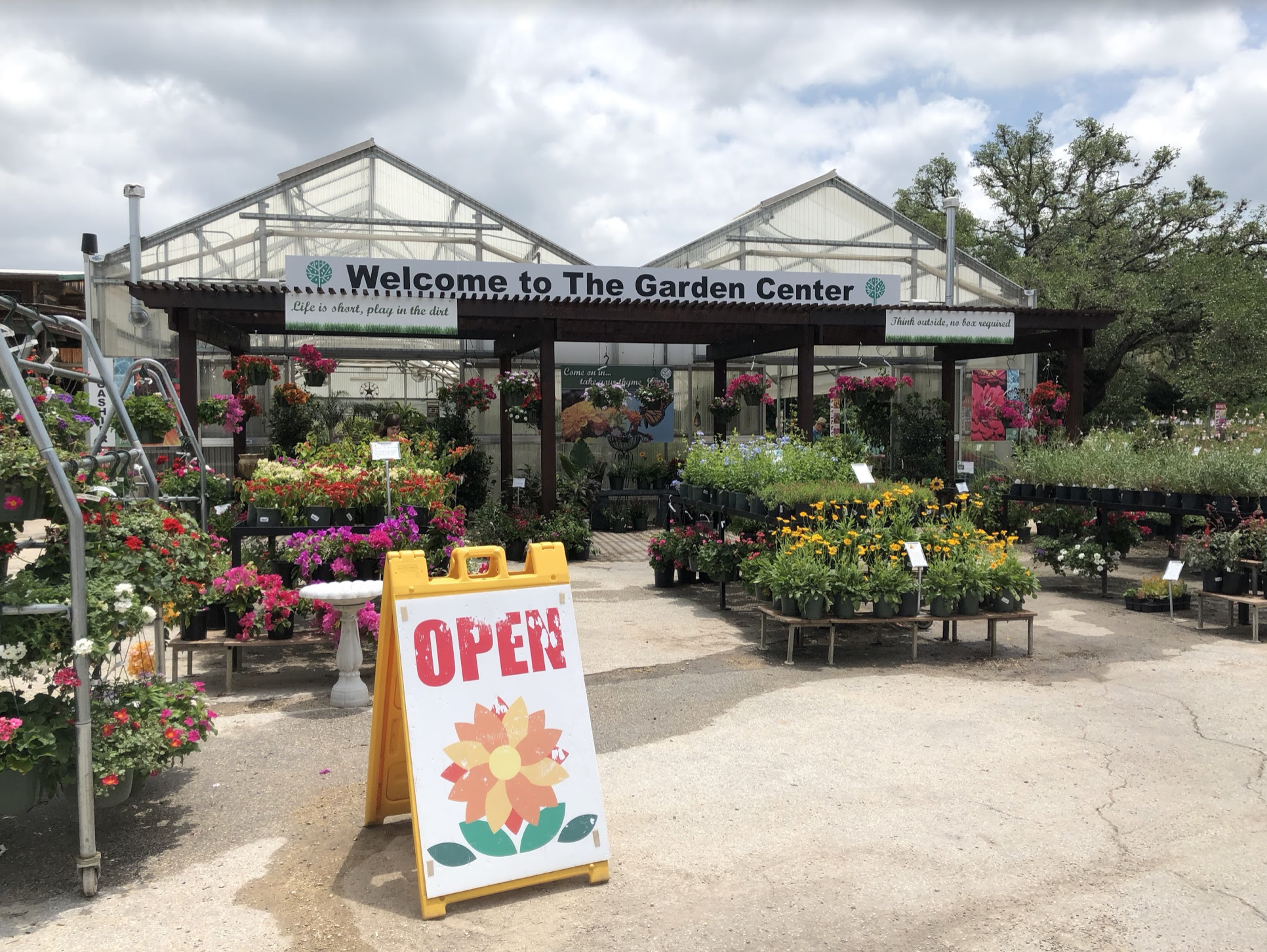 The Garden Center in San Antonio, Texas